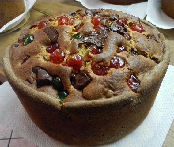 La torta ricresciuta pasquale dell'Alimentari Cinque di Ceprano