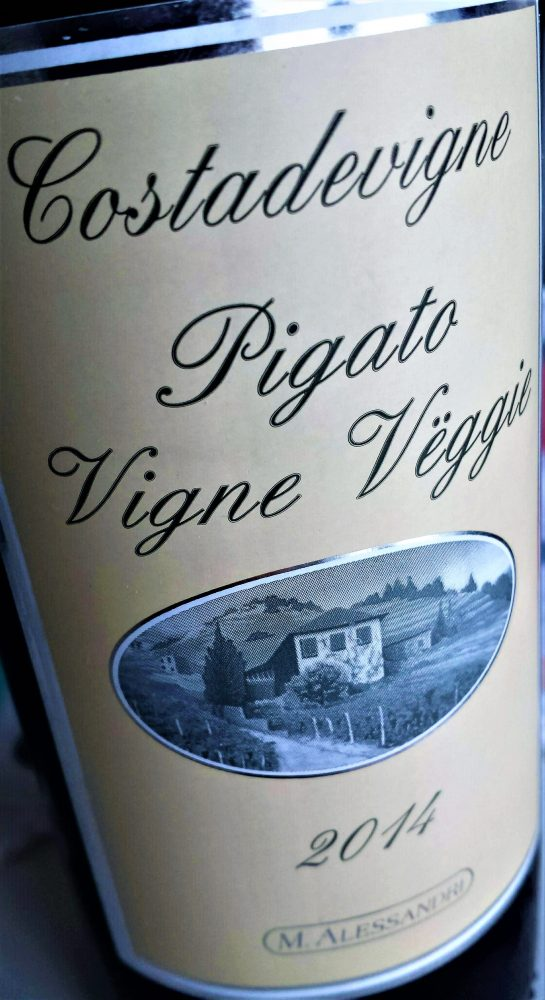 Pigato Vigne Veggie 2014, Alessandri