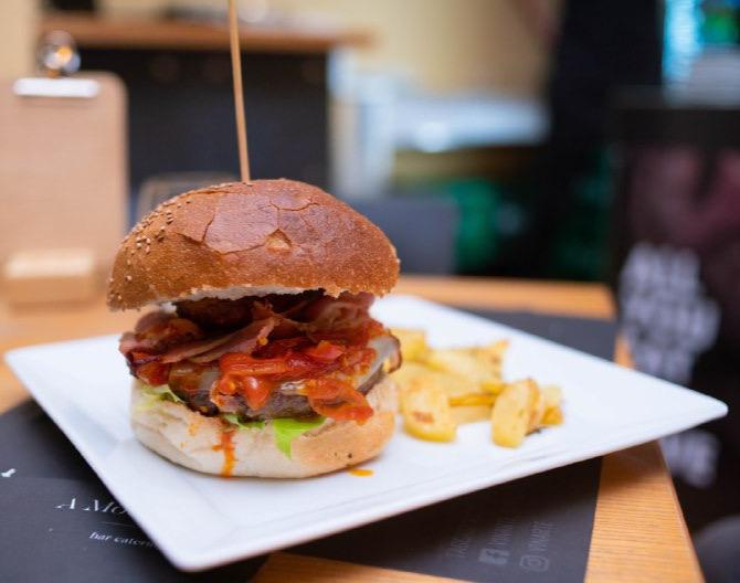 Vinarte, Nduja Cheese Burger