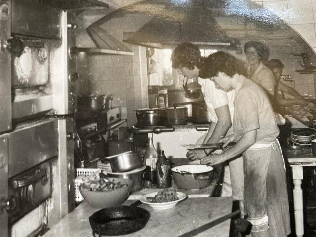 Antonietta Milana in cucina