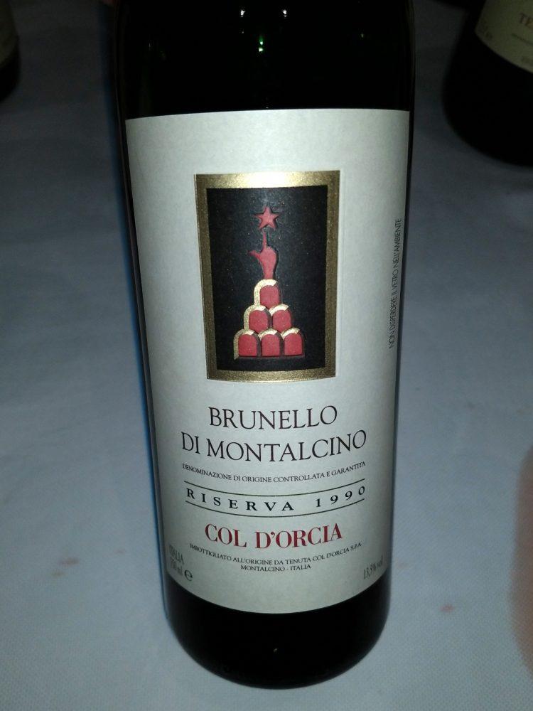 Brunello di Montalcino - Riserva 1990
