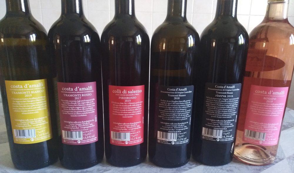 Controetichette vini Apicella