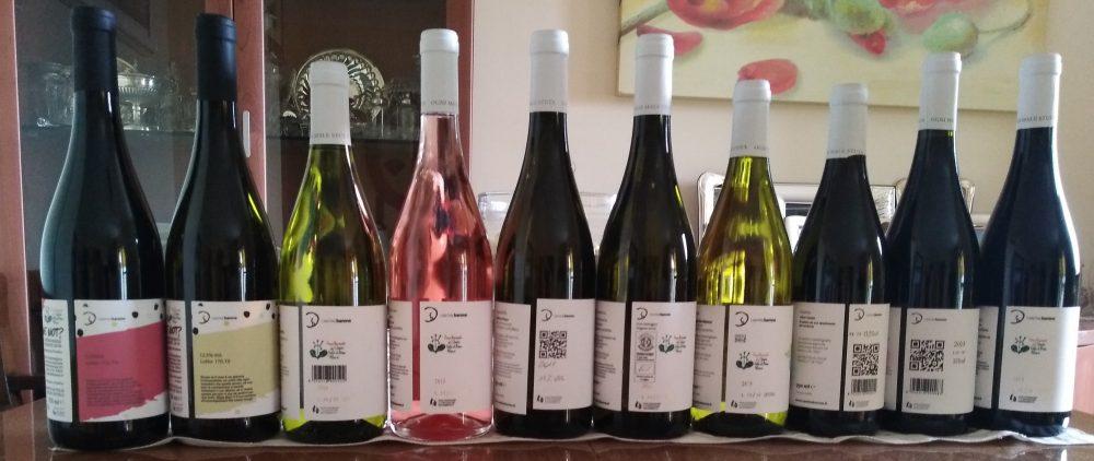 Controetichette vini Cantine Barone
