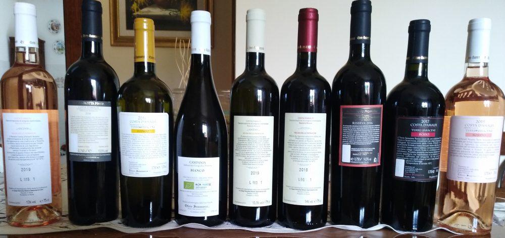 Controetichette vini Ettore Sammarco