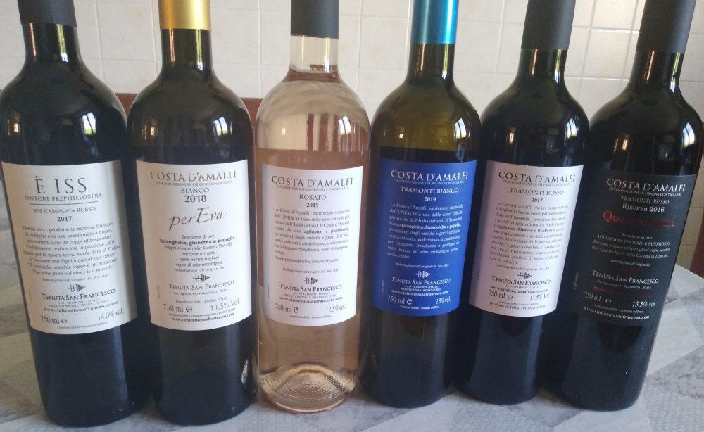 Controetichette vini San Francesco