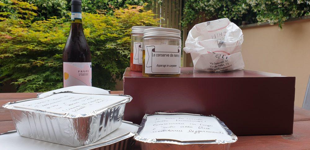 Delivery Achilli Caffe' - Box