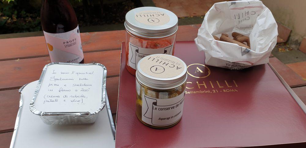Delivery Achilli Caffe' - contenuto box