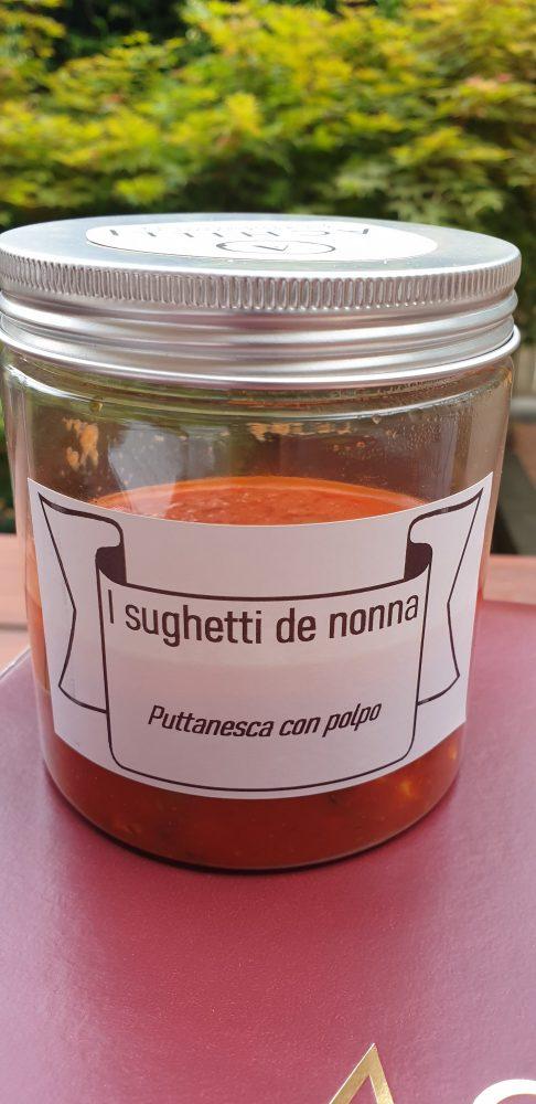 Delivery Achilli Caffe' - salsa alla puttanesca con il polpo