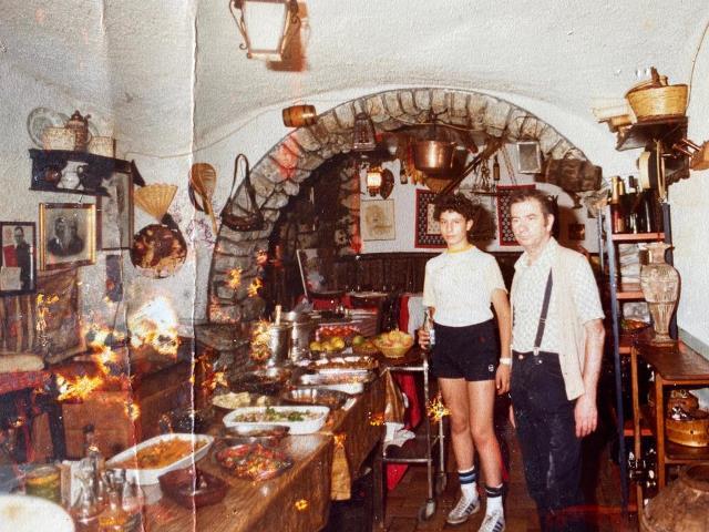 Giovanni Milana a 15 anni con papa' Primo