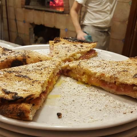 La Gatta Mangiona - pizza ri-cotta carbonara