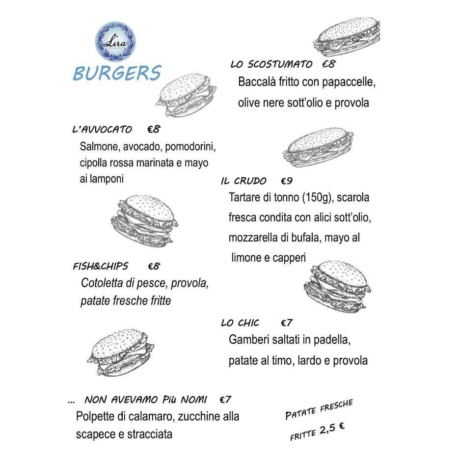Lira Restaurant - panini