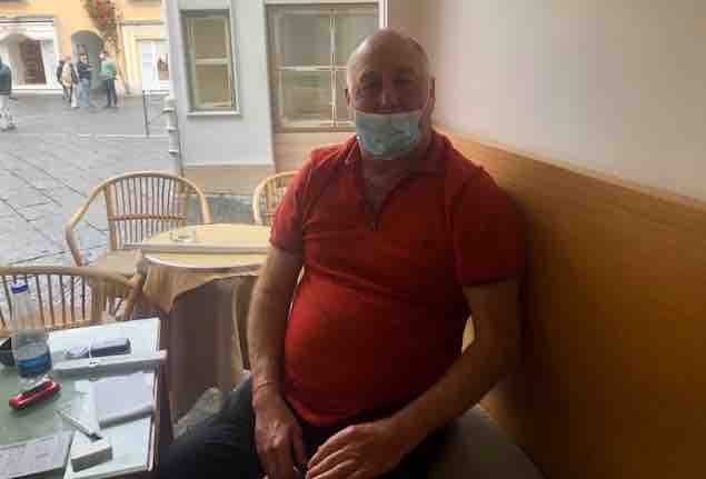 Luigi Billy Pisanzio titolare del bar Tiberio