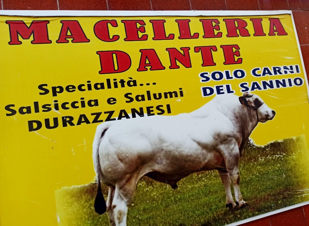 Macelleria Dante - Insegna
