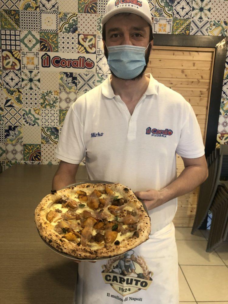 Mirko Patrizio di pizzaria Corallo