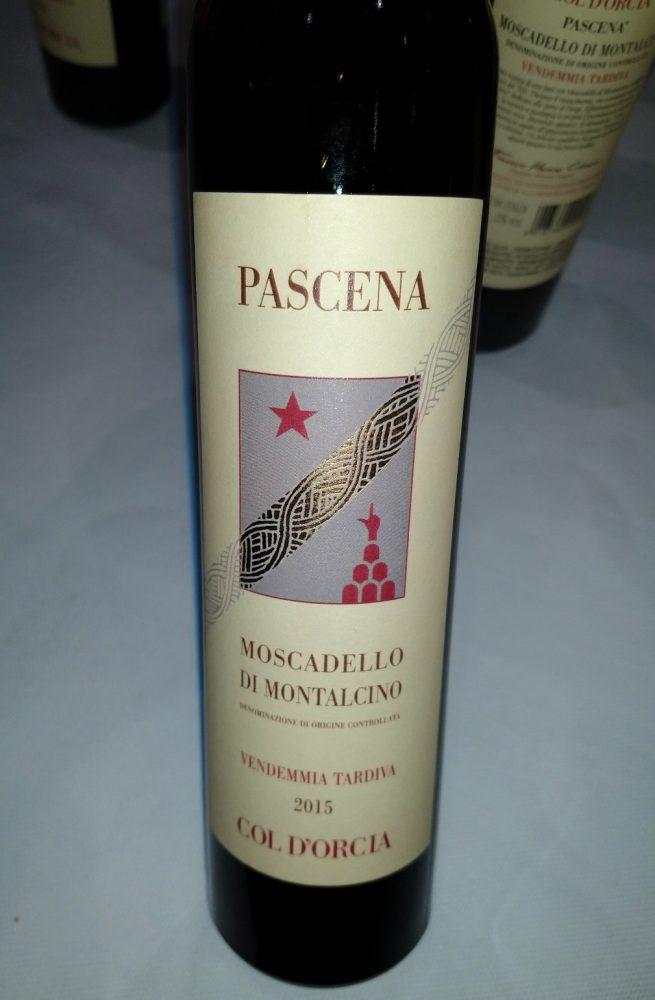 Pascena - Moscadello di Montalcino 2015