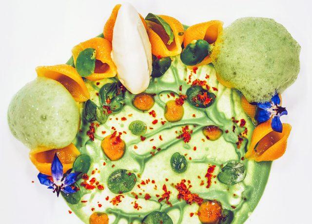 Tofette, fave, pancetta e pecorino di Antonio Sicignano