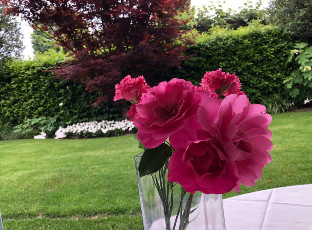 Trattoria Visconti, la splendida vista dal tavolo