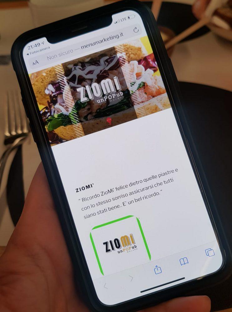ZiomI' - menu'
