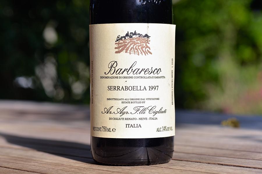 Barbaresco Serraboella 1997 F.lli Cigliuti