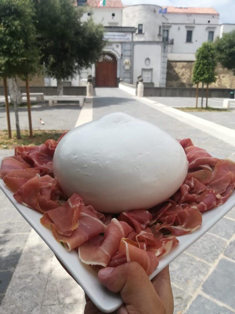 Pizzeria chateau - mozzarella