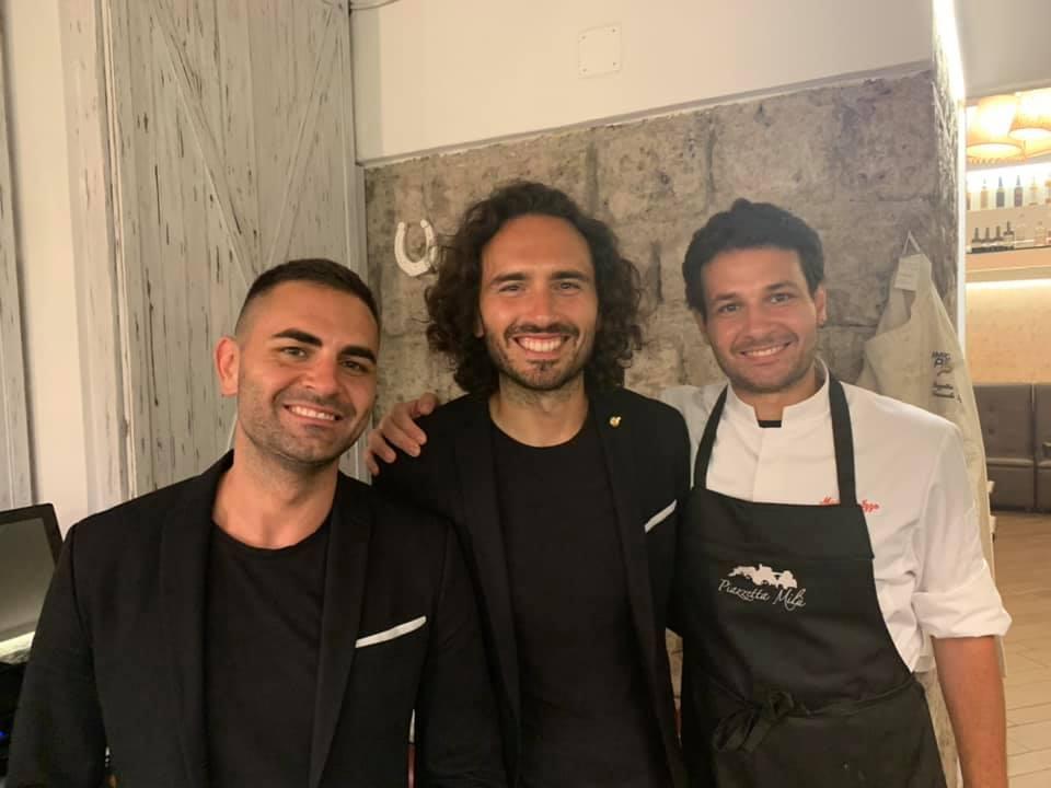 Valerio, Emanuele e Maicol Izzo