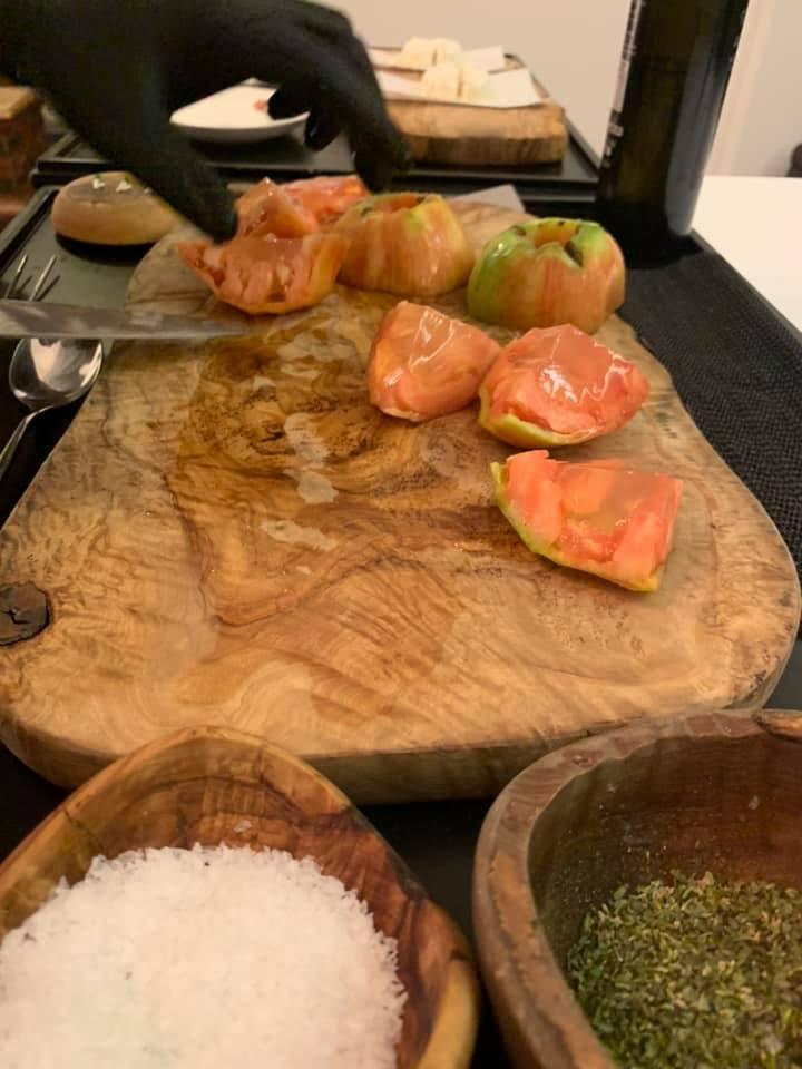 Piazzetta Milu - Insalata di Pomodori sorrentini