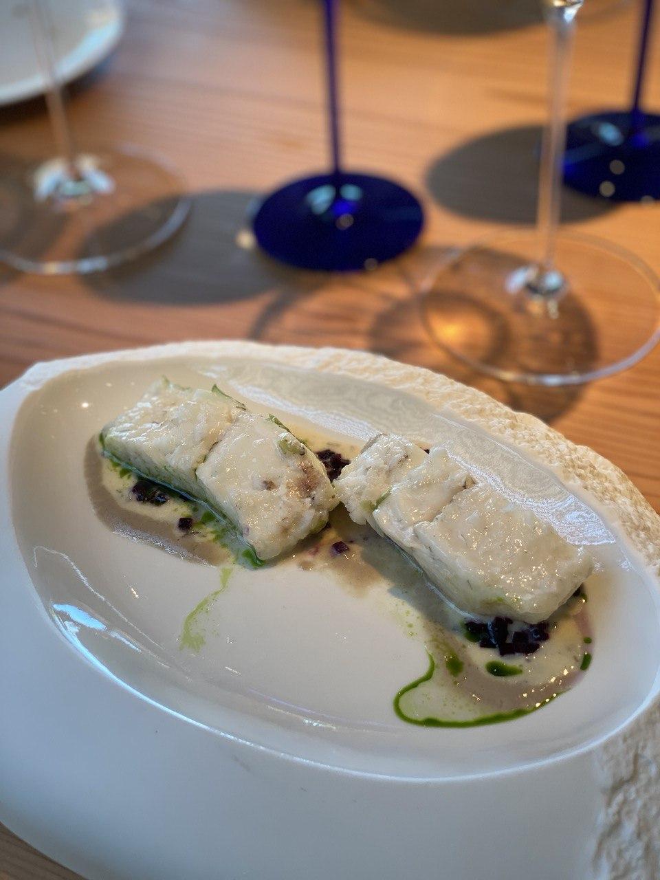 Madonnina del Pescatore, Senigallia - Rombo al sale con tartufo