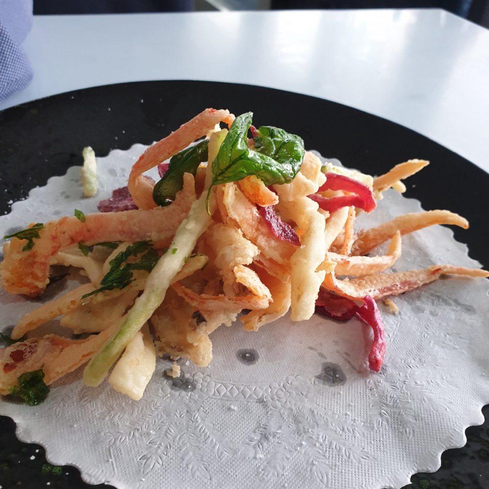 Romolo Al Porto, Anzio - fritto con verdure