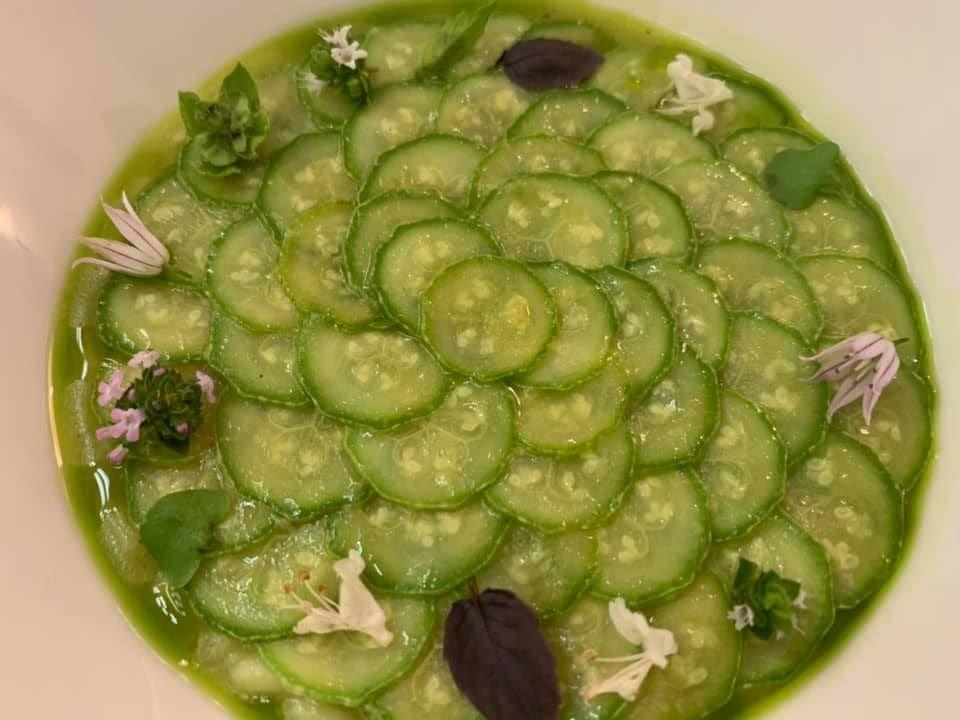 Piazzetta Milu', riso e zucchine alla scapece