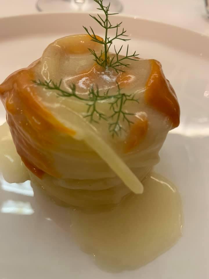 Piazzetta Milu - Spaghetto al limone e nduja di gamberi