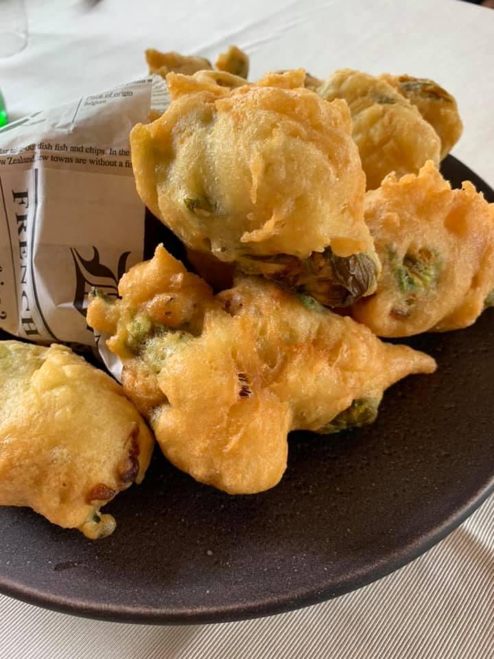 Caprettata - Fiori di zucca fritti