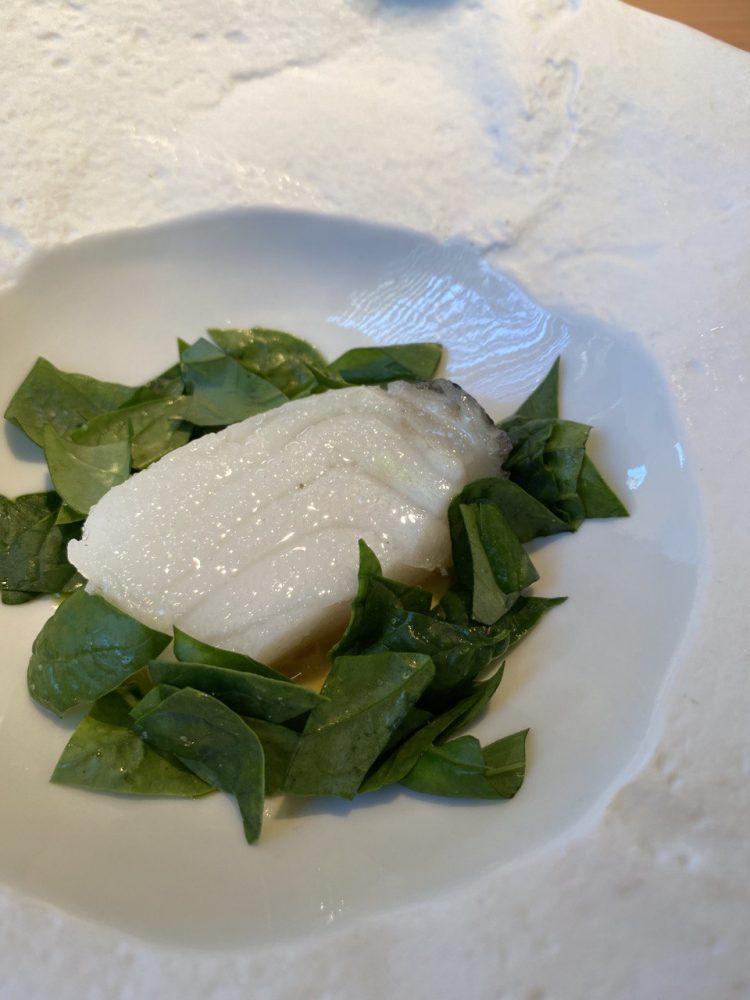 Madonnina del Pescatore, Senigallia - Moro con misticanza e curry