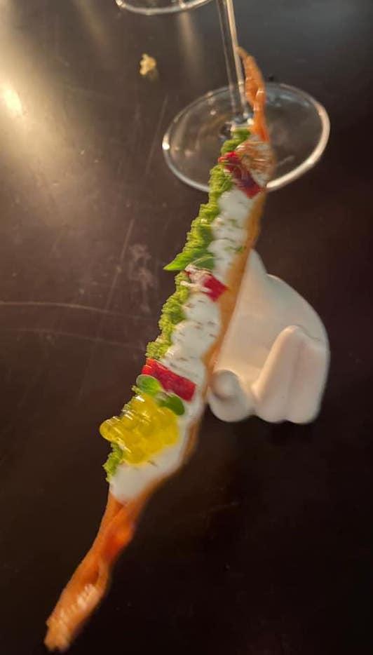 Piazzetta Milu - Patata croccante e mousse di fior di latte