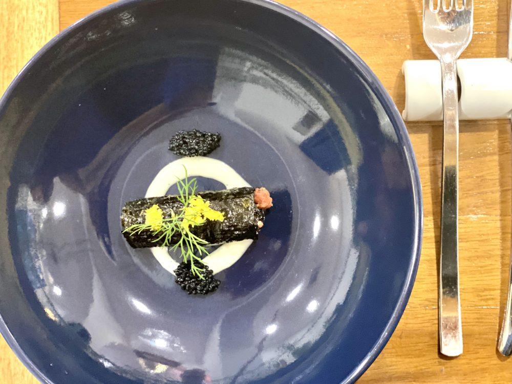 Agape Ristorante - Cannolo di alga nori