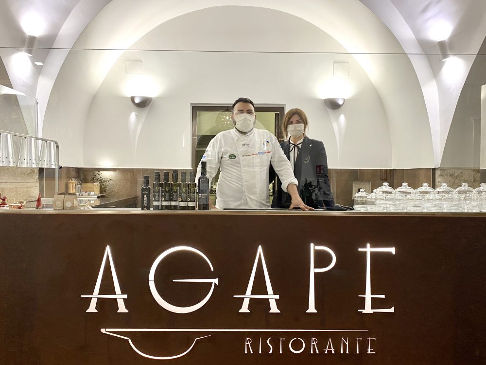 Agape Ristorante - Gabriele e Gianna Piscitelli