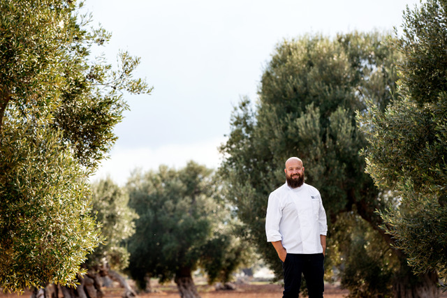 Borgo Egnazia -Chef Domingo Schingaro