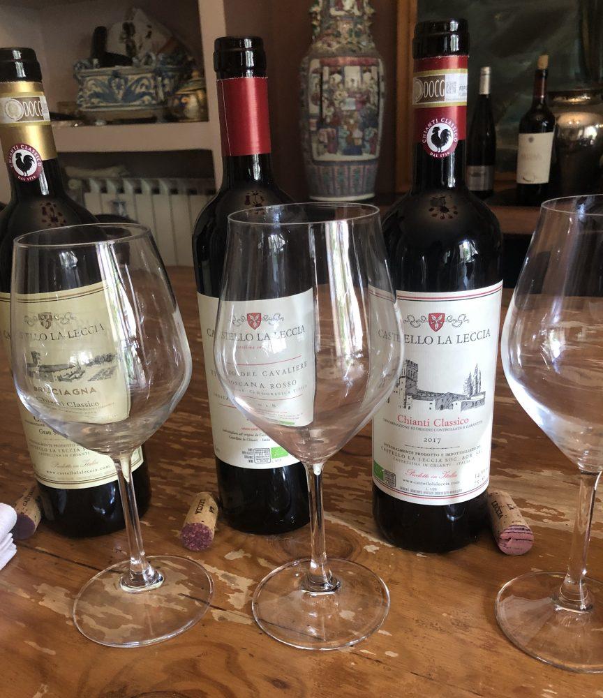 Bruciagna Chianti Classico DOCG Gran Selezione 2015, Vivaio del Cavaliere IGT 2018, Chianti Classico DOCG 2017