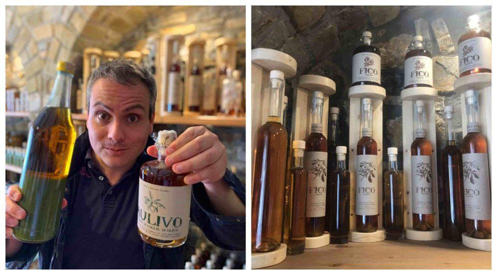 Cilento I Sapori della terra - liquori di fico e olivo
