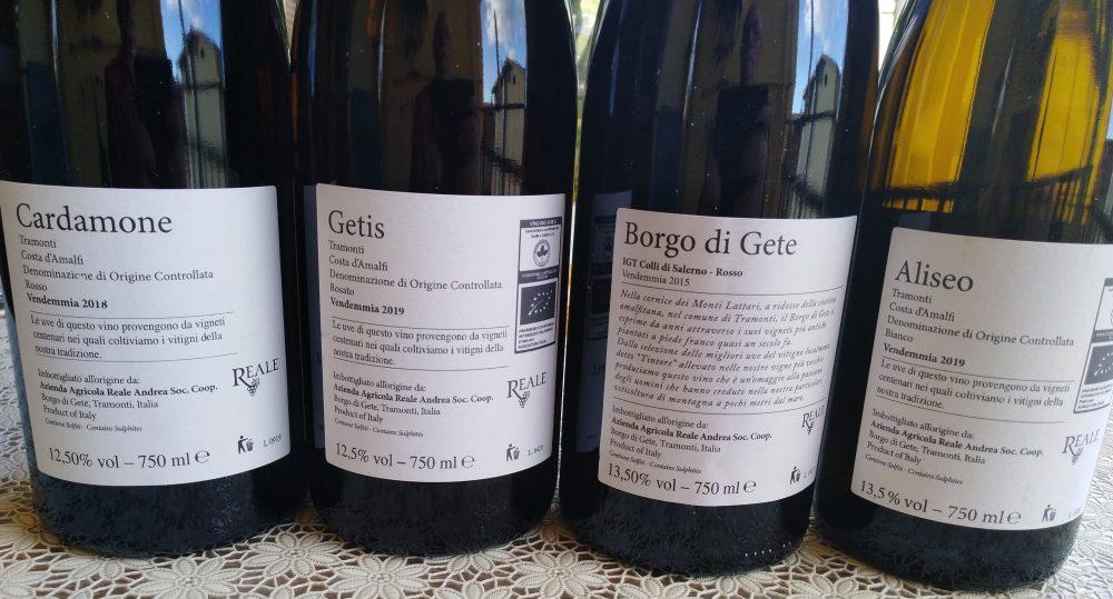 Controetichette vini Reale