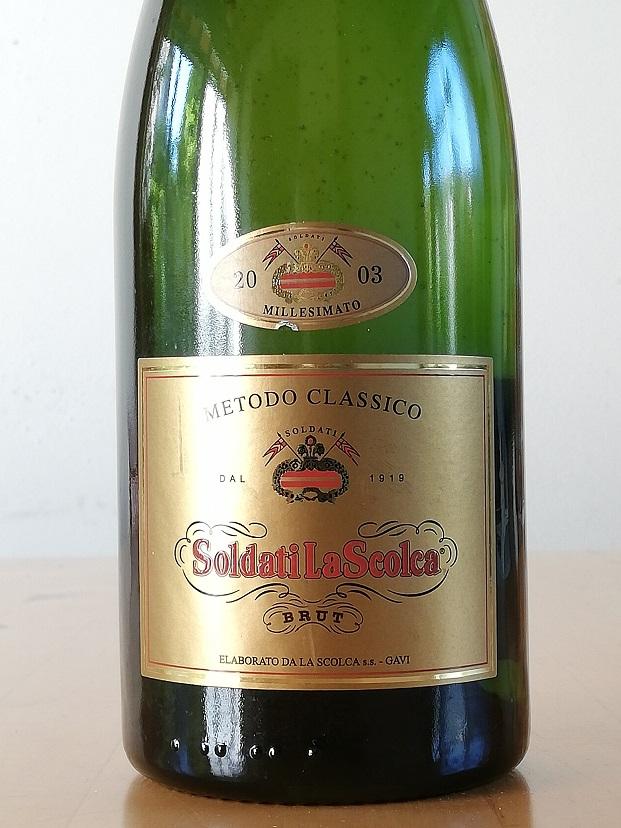Soldati La Scolca Brut Millesimato 2003 – La Scolca - Etichetta