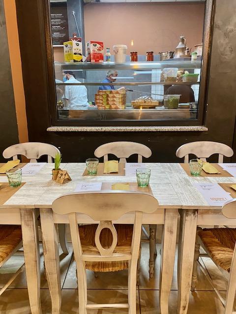 Gourmet Di Vico - sala