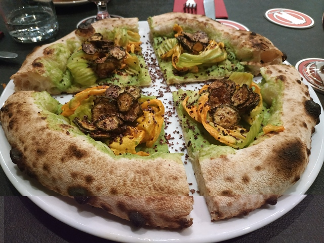 L'Osteria di Birra del Borgo - La tonda moderna - Le 3 zucchine
