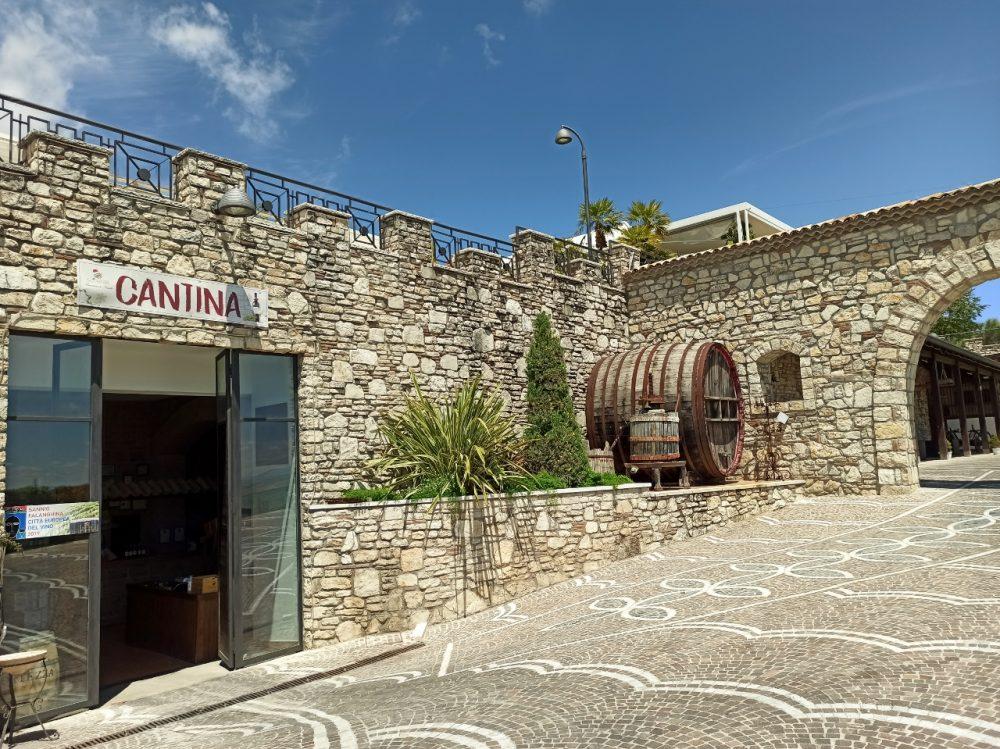 La Fortezza - ingresso cantina