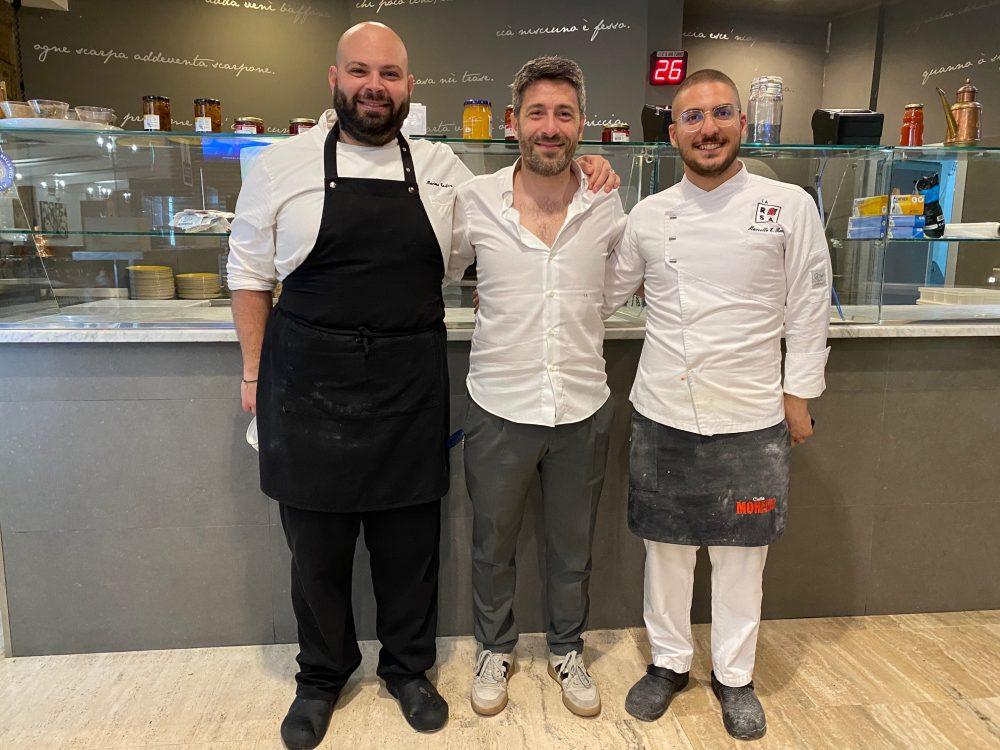 La Rosa Pizza Restaurant - Marcello Rocco - Crescenzo Fabozzi e Mariano Carfora