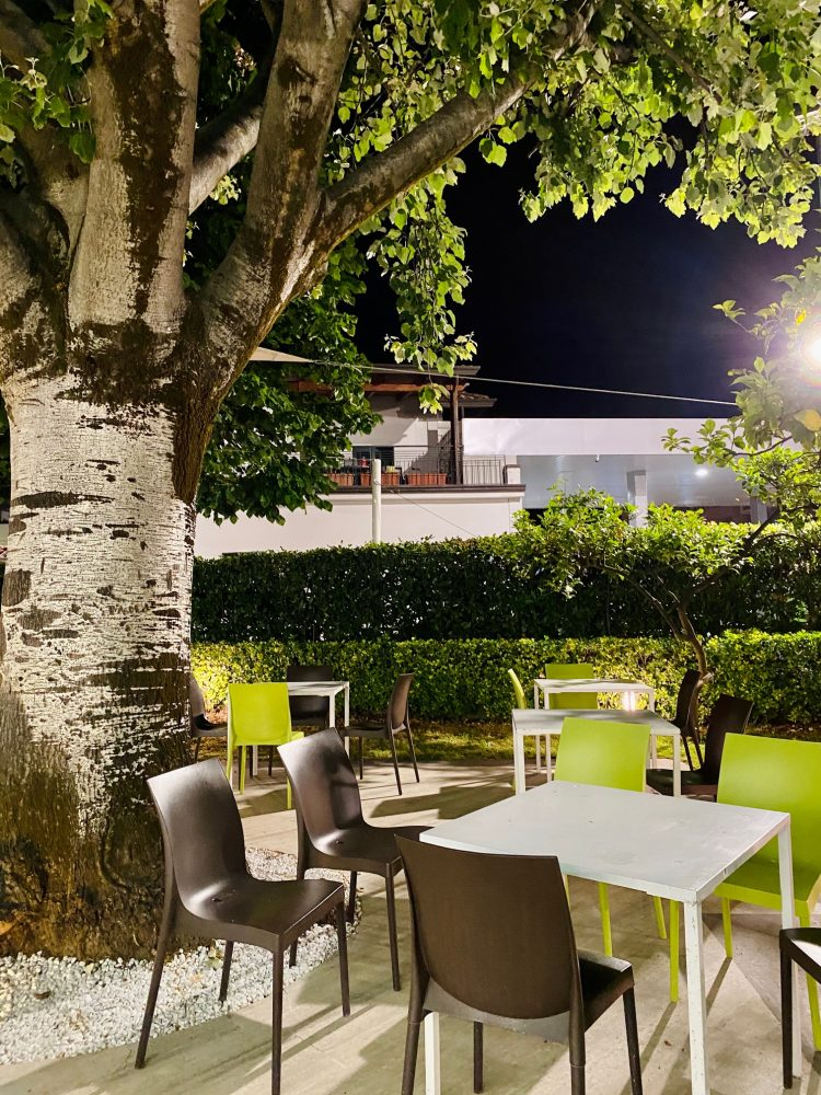 La Rosa Pizza Restaurant - giardino