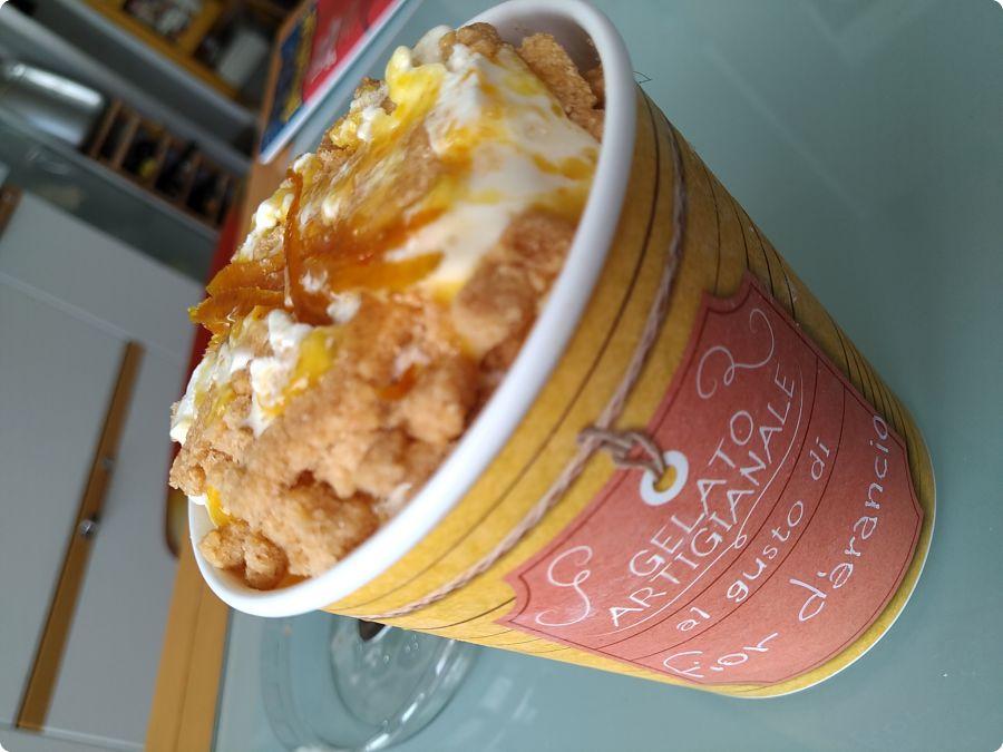 Mannori Pasticceria - fiordarancio torta gelato