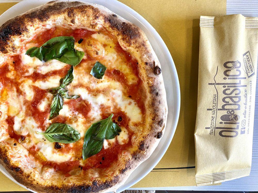 Olio & Basilico - Pizza Margherita