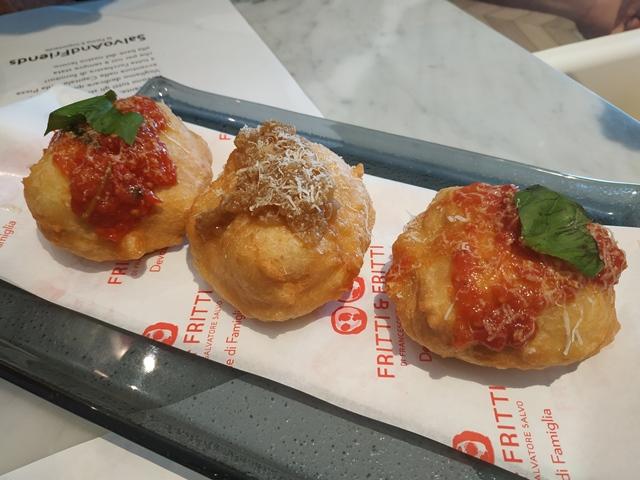 Pizzeria Francesco&Salvatore Salvo - tris di montanarine