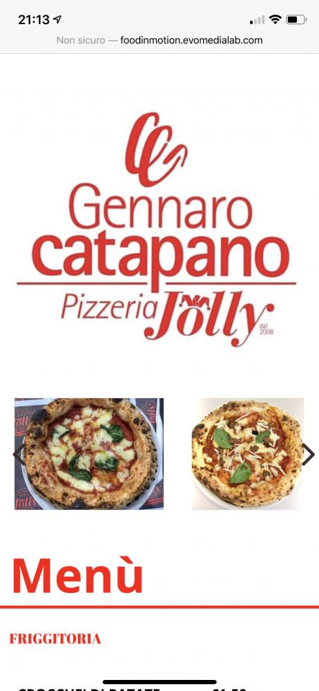 Pizzeria Jolly - menu' digitale