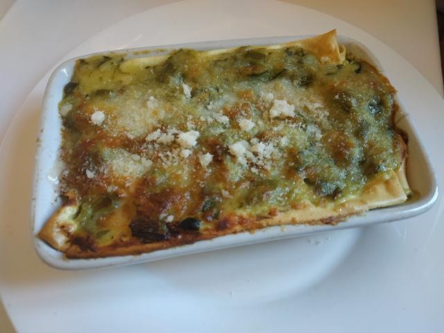 Trattoria Zaraza' - lasagna bianca con zucchine e asparagi